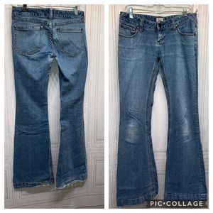 FreePeople Jeans Size 29 Flare Bottoms